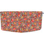 Flap of shoulder bag peach flower - PPMC