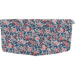 Flap of shoulder bag flowered london - PPMC
