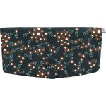 Flap of shoulder bag fireflies - PPMC