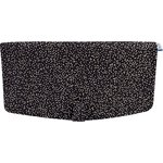 Flap of shoulder bag glitter black - PPMC