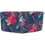 Flap of shoulder bag tropical fire - PPMC