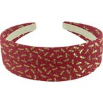 Wide headband ruby dragonfly - PPMC