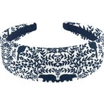 Wide headband scandinave navy blue - PPMC