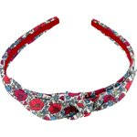 bow headband poppy - PPMC