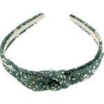 bow headband fleuri kaki - PPMC