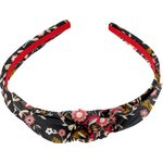 bow headband ochre bird - PPMC