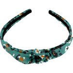 bow headband jade panther - PPMC