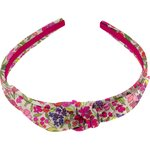 bow headband purple meadow - PPMC