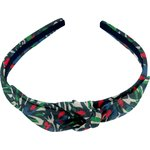 bow headband  tulipes - PPMC