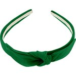 bow headband bright green - PPMC