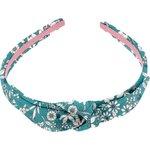 bow headband celadon violette - PPMC