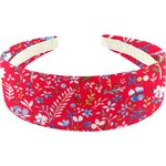 Wide headband cherry cornflower - PPMC