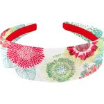 Wide headband powdered  dahlia - PPMC