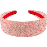 Wide headband mini pink flower - PPMC