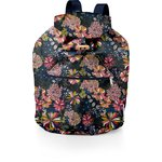 Small rucksack pink blue dalhia - PPMC