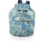 Petit sac à dos plastifié forêt bleue - PPMC