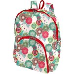 Foldable rucksack  powdered  dahlia - PPMC