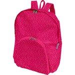 Foldable rucksack  etoile or fuchsia - PPMC