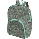 Foldable rucksack  flower mentholated - PPMC