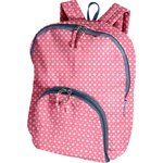 Foldable rucksack  small flowers pink blusher - PPMC