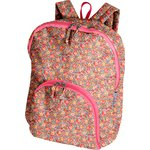 Foldable rucksack  peach flower - PPMC