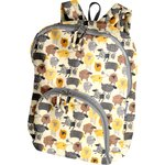 Foldable rucksack  yellow sheep - PPMC
