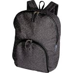 Foldable rucksack  noir pailleté - PPMC