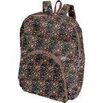 Foldable rucksack  ochre bird - PPMC
