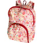 Foldable rucksack  flowers origamis  - PPMC