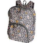Foldable rucksack  ochre flower - PPMC