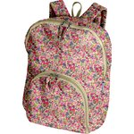 Foldable rucksack  purple meadow - PPMC