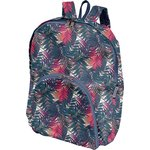 Foldable rucksack  tropical fire - PPMC