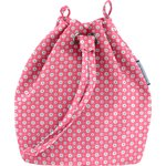 Bucket bag small flowers pink blusher - PPMC