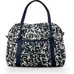 Bowling bag  black linen foliage  - PPMC