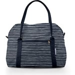 Sac bowling rayé argent marine - PPMC