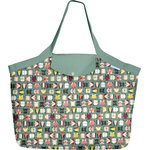Tote bag with a zip animals cube - PPMC