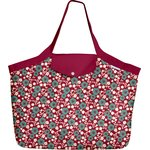 Tote bag with a zip ruby cherry tree - PPMC