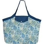 Grand sac cabas forêt bleue - PPMC