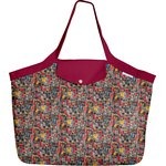 Tote bag with a zip multi letters - PPMC