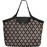 Tote bag with a zip pop bear - PPMC