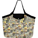 Tote bag with a zip  vintage - PPMC