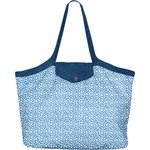 Pleated tote bag - Medium size flower cloudy - PPMC