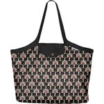 Pleated tote bag - Medium size pop bear - PPMC