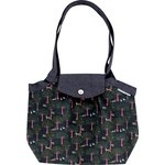 Pleated tote bag-Small size autumn tale - PPMC