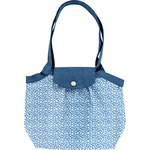 Pleated tote bag-Small size flower cloudy - PPMC