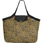 Tote bag with a zip 1000 leaves - PPMC