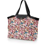 Tote bag with a zip barcelona - PPMC