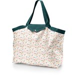 Tote bag with a zip sea side - PPMC