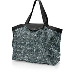 Tote bag with a zip parts blue night - PPMC