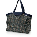 Tote bag with a zip fireflies - PPMC
